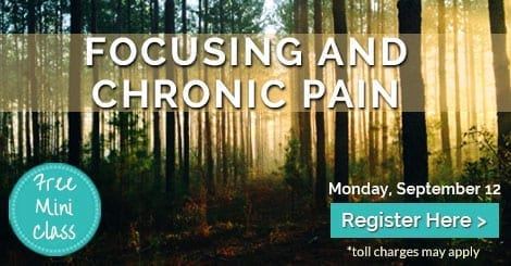 Focusing and Chronic Pain