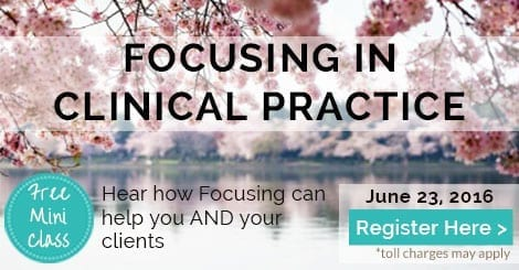 Free Call about Focusing in Clinical Practice